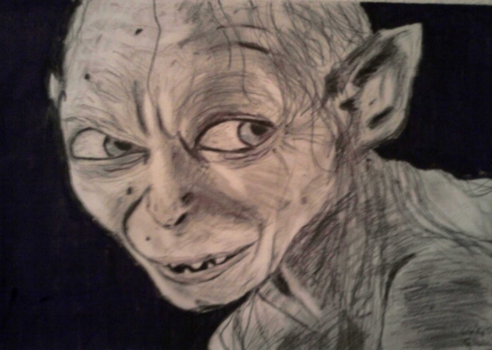 Gollum por Clara91